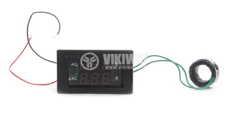 Volt-ammeter 500VAC / 100A - 1