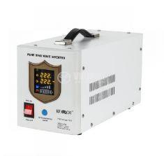 Инвертор със зарядно KEMOT URZ3406, UPS, 12VDC-220VAC, 700W, истинска синусоида