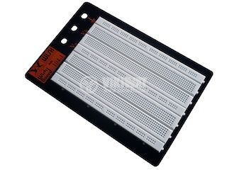 Universal breadboard, WB-104, 220x150mm, for electronics prototypes, DIY