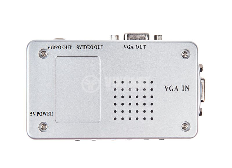 Converter Video and S-Video (BNC) to VGA - 6