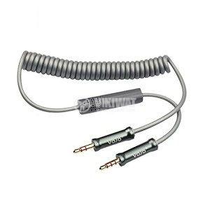 Кабел, plug 3.5 stereo/m-plug 3.5 stereo/m с микрофон, 1m - 3