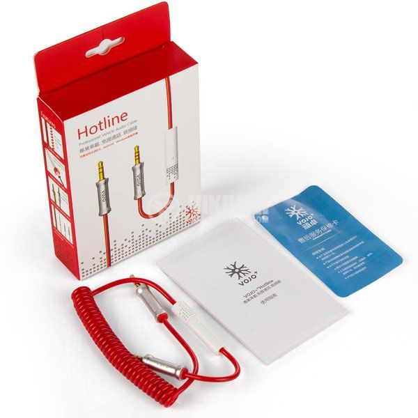 Кабел, plug 3.5 stereo/m-plug 3.5 stereo/m с микрофон, 1m - 6