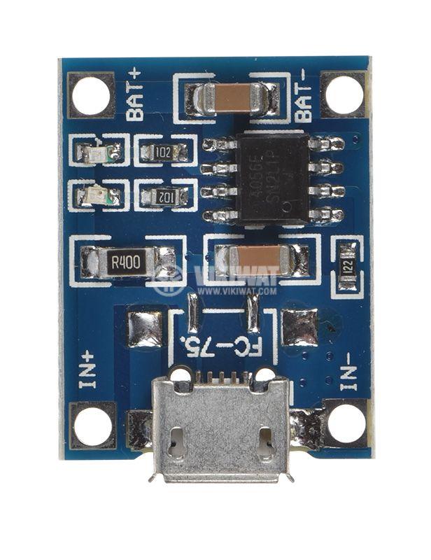 Li-ion batteries KIT USB micro