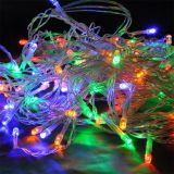 Christmas pendant type decoration, 3m, color (RGB), 100LEDs, IP44 outdoor mounting