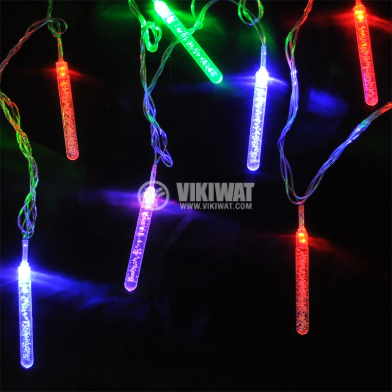 Christmas decoration pendant type L2001, 4m, 5W, color, IP44, 120 LED, outdoor installation - 1