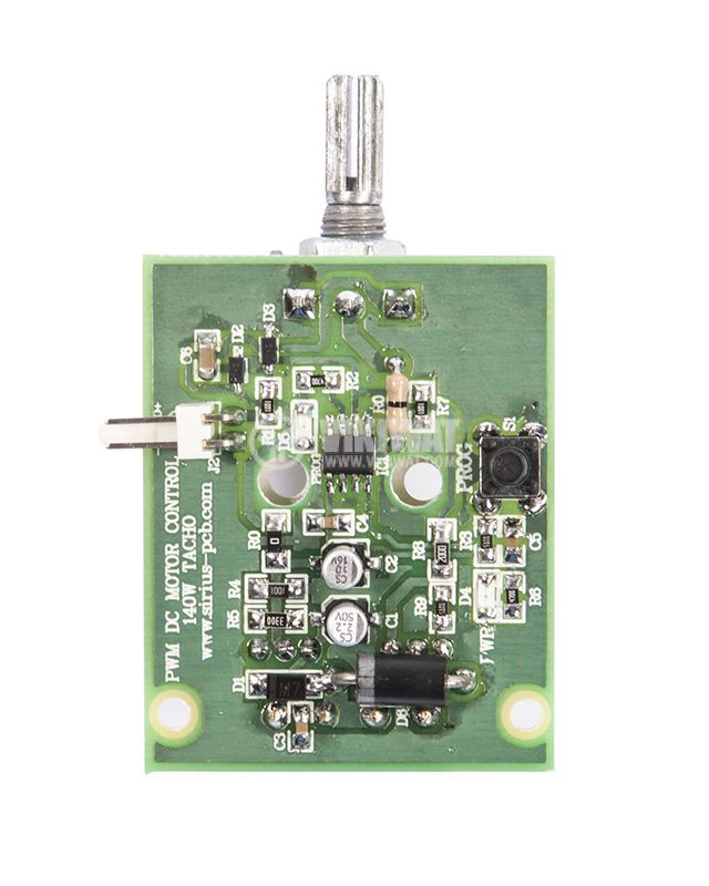 PWM DC MOTOR CONTROL tacho, 140W, 12 - 32VDC with feedback from a DC current tachogenerator - 2