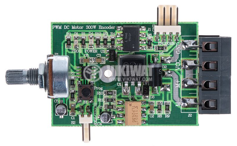 PWM DC MOTOR CONTROL, 300W, 12 - 32VDC with feedback from an encoder - 2