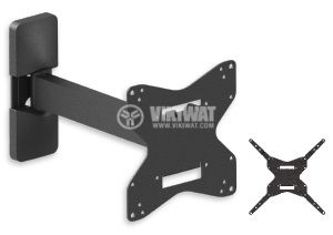 "TV Wall Mount Stand 253, 42"", tilt, swivel, pivot - 1"