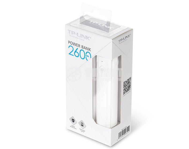 Universal portable battery TL-PB2600, 2600mAh - 2