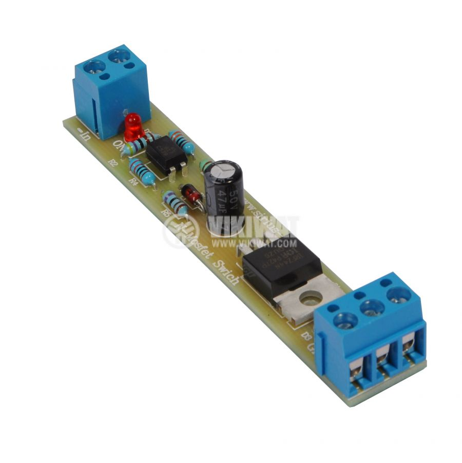 1xN-Mosfet Switch switch DC power consumers