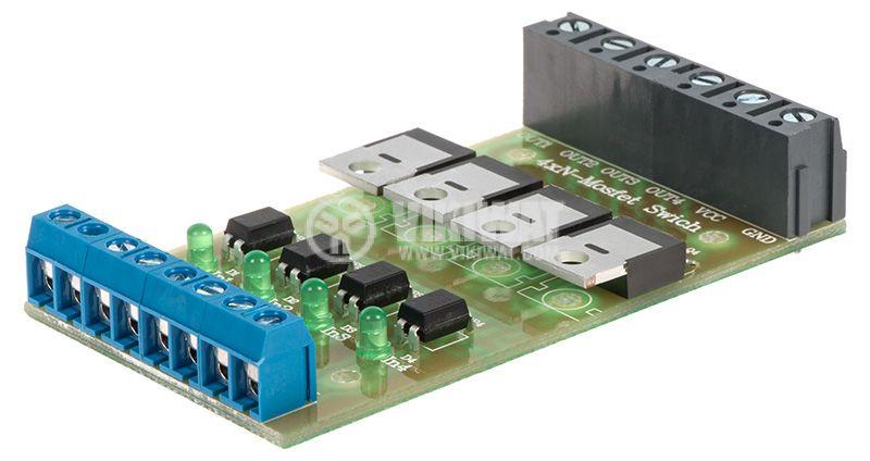 4xN-Mosfet Swich превключвател на мощни DC консуматори - 1