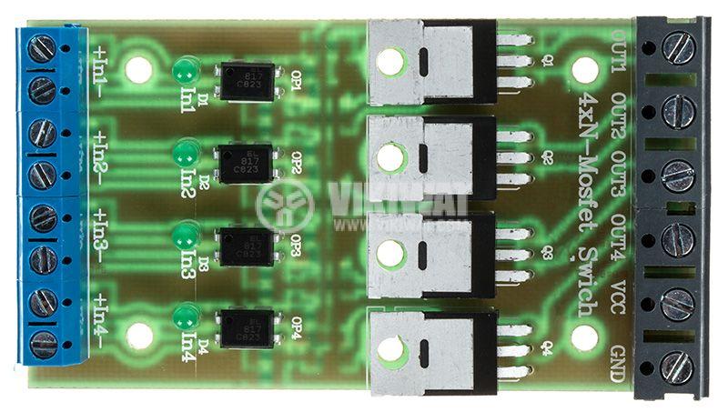 4xN-Mosfet Swich превключвател на мощни DC консуматори - 3