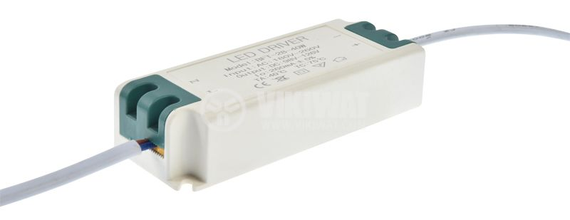 Power LED Driver 98-126VDC, 260mA, IP20 - 2