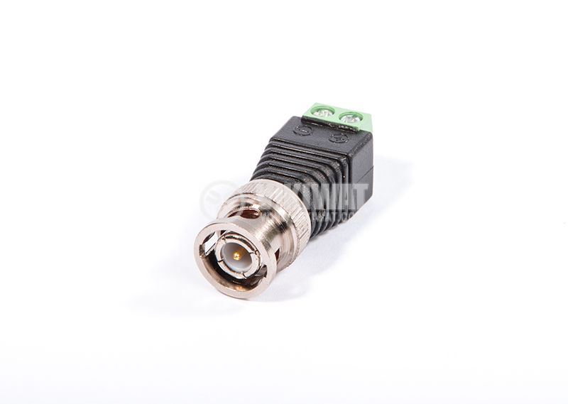 BNC connector with luster terminal - 2