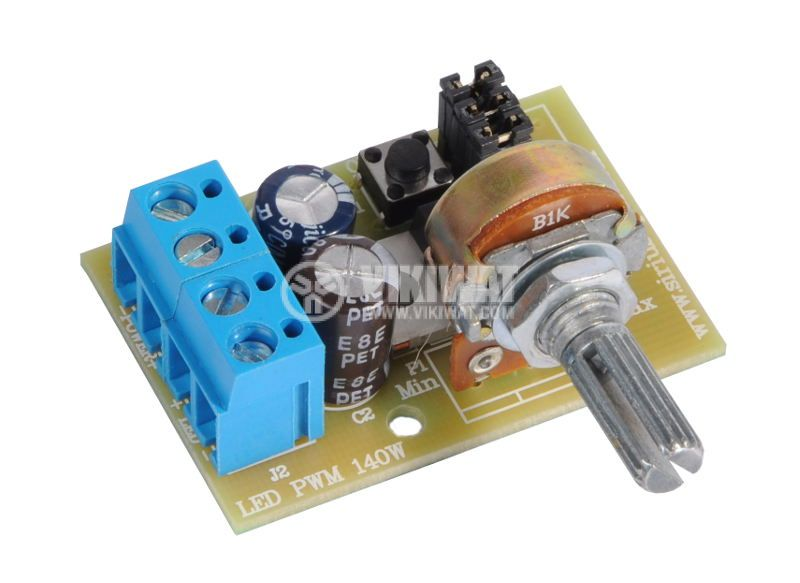 LED PWM regulator + stroboscope 12-24VDC