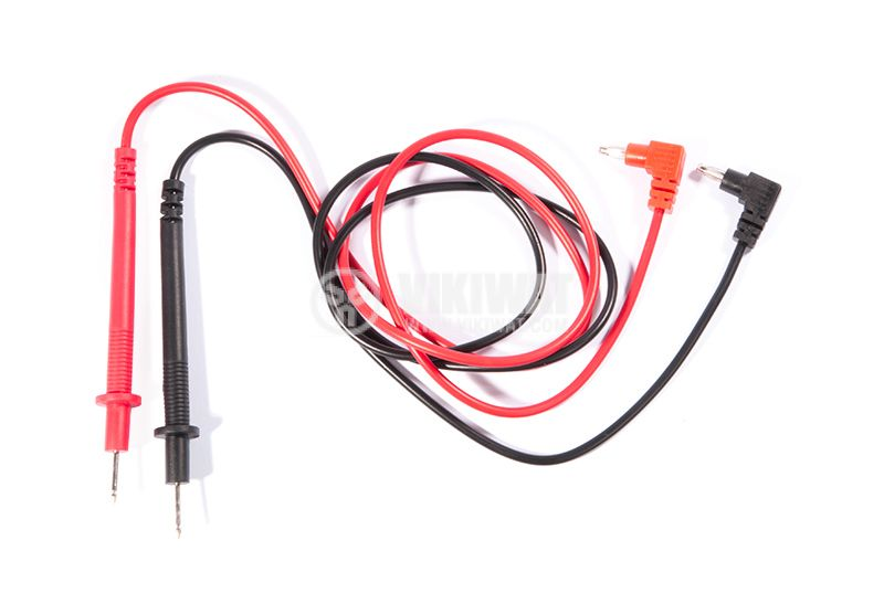 Probes for multimeter 600 m black and red wires - 1