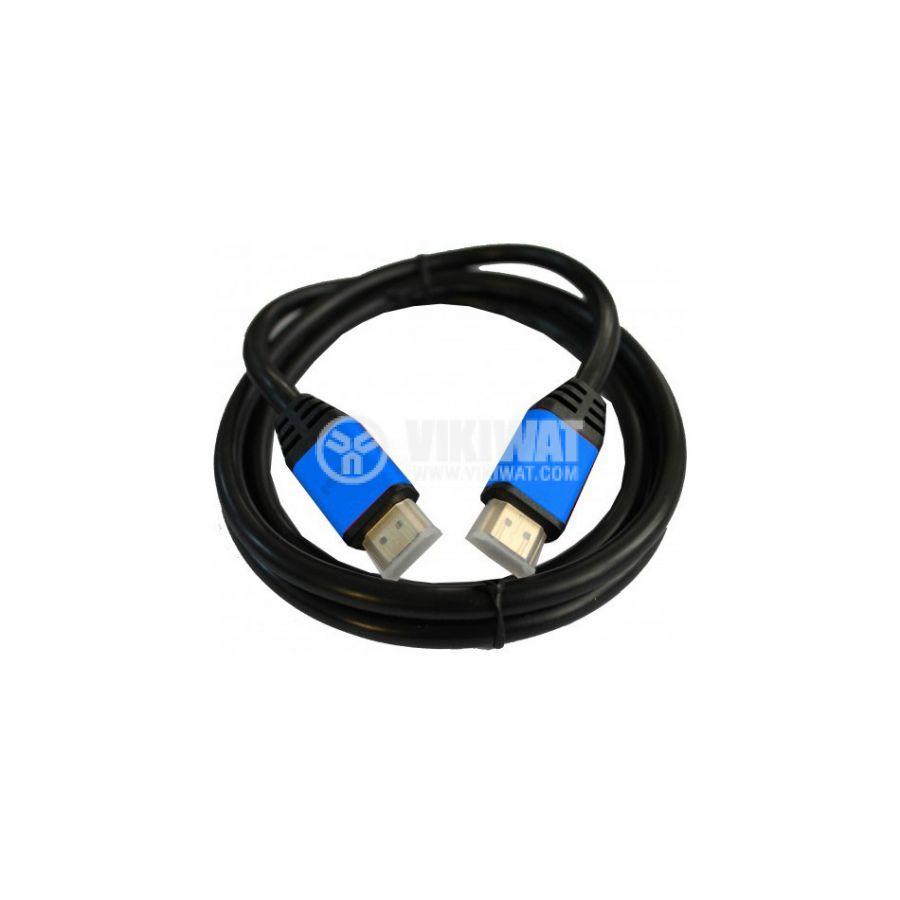 Висококачествен кабел, HDMI/m-HDMI/m, 3m, 1.4v - 1