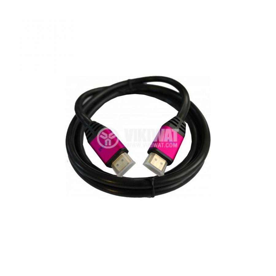 Висококачествен кабел, HDMI/m-HDMI/m, 5m, 1.4v - 1