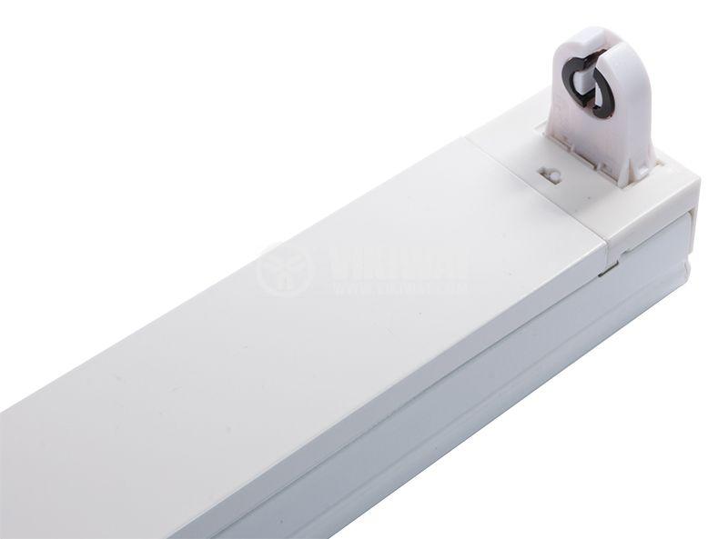 LED rail for tube lamp, 1m, white, 220VAC - 1