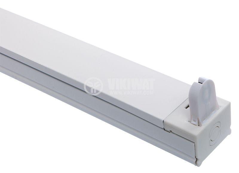 LED rail for tube lamp, 1m, white, 220VAC - 2