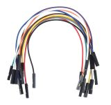 Connecting cables MIKROE-511, 1 pin / F - 1 pin / F, jumper, 150mm