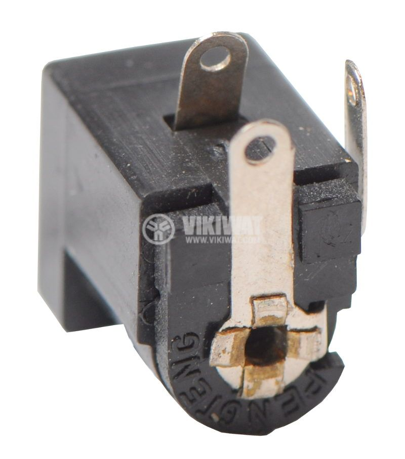 Power DC socket, M, 5.5x2.5mm - 2