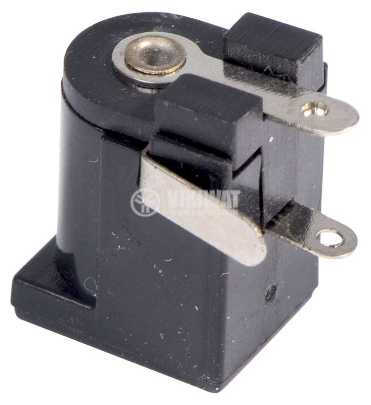 Power DC socket, M, 5.5x2.5mm - 3