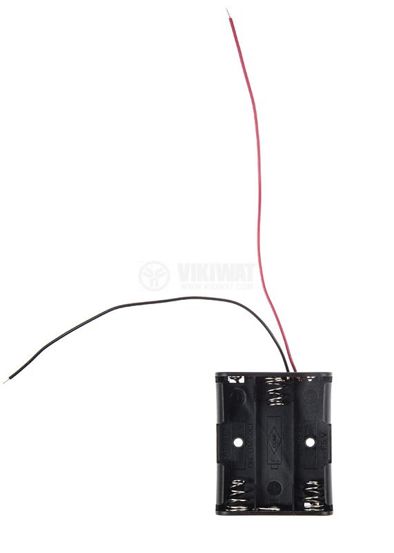 Battery holder, AAx3 - 2