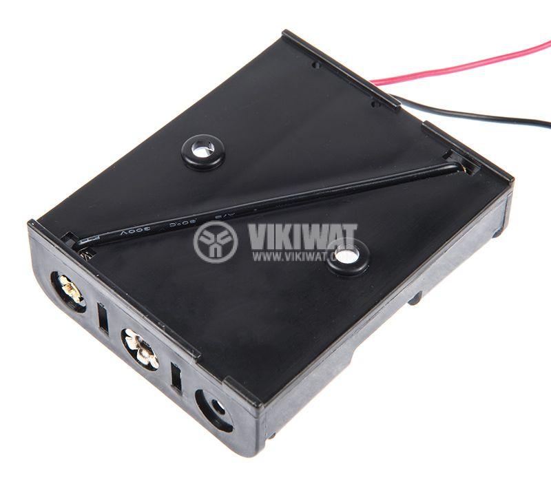 Държач за батерии 3xАА - 3