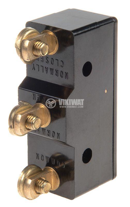 Limit Switch, AG-20G-B8, SPDT-NO+NC, 20A/380VAC, pusher - 2