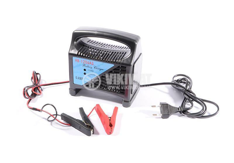 Зарядно устройство за акумулатор NB-1206AS 220V 12V 6A - 5