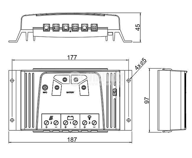 Контролер за соларни панели - 2