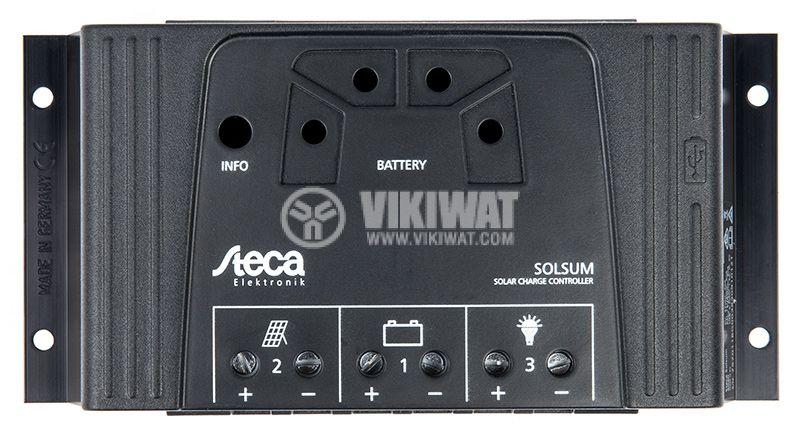 Контролер за соларни системи Solsum 4040 40A 12VDC/24VDC - 5