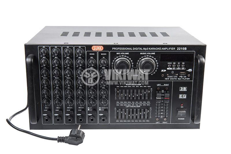 Professional Amplifier 2 x 900 W / 4 Ohm, 2 x 300 W / 8 Ohm - 1