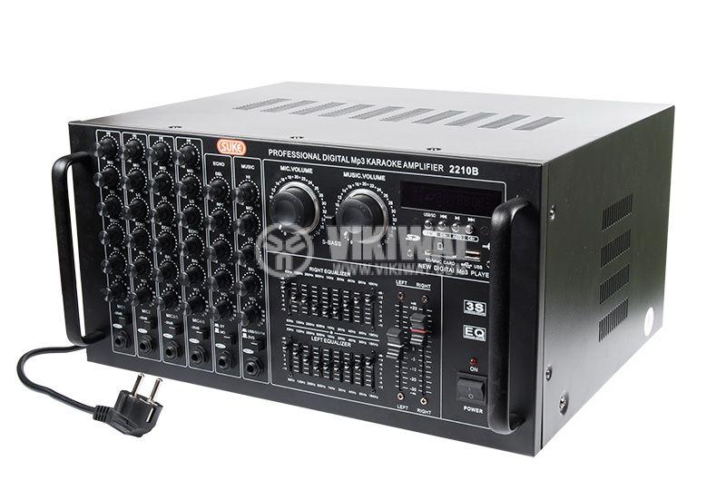 Professional Amplifier 2 x 900 W / 4 Ohm, 2 x 300 W / 8 Ohm - 3