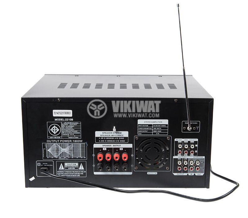 Professional Amplifier 2 x 900 W / 4 Ohm, 2 x 300 W / 8 Ohm - 4