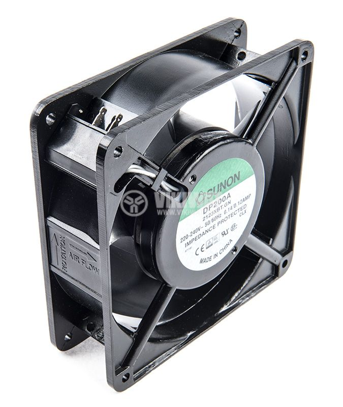 Fan, 120x120x38mm, with bearing, 165m3 / h, DP200A2123XBT.GN - 3