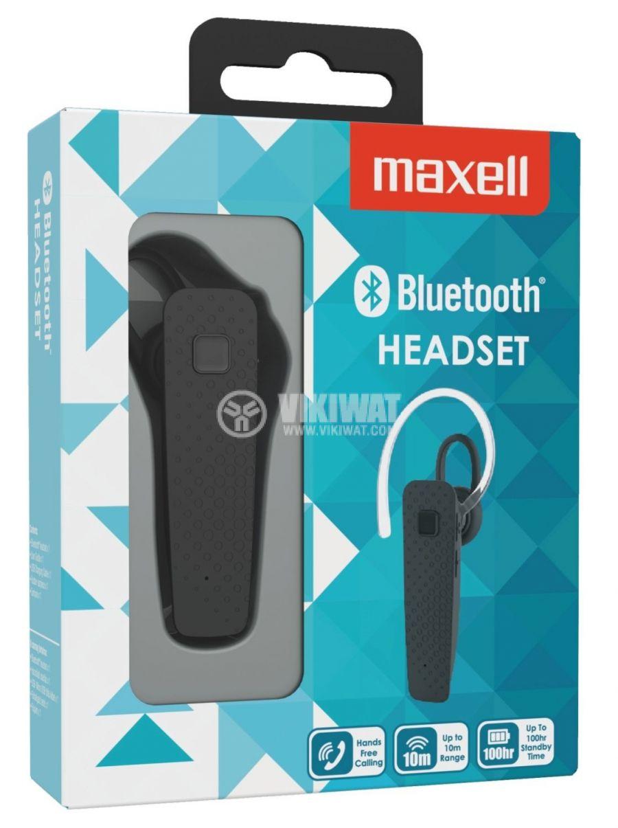 Bluetooth хендсфри до 3 часа обхват 10m черно - 2