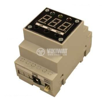 Thermocontroller Thermo Control 12VDC, -55 - 125°C, 3 Relay outputs