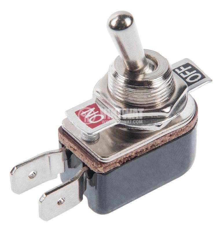 ЦК ключ KNH-1S, 3A/250VAC, 6A/125VAC, SPST, ON-OFF - 1