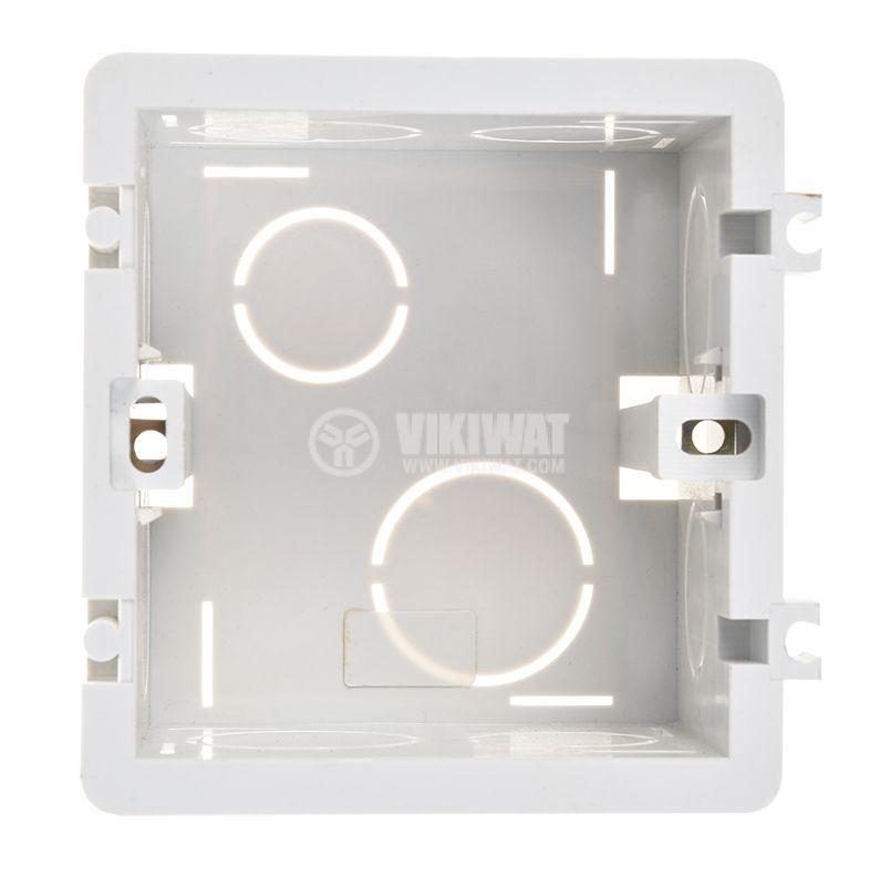 Разклонителна кутия, конзола за ключ за бойлер, за вграждане - 5
