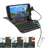 Remax RM-CS101 Super Flexible Car Holder with Charging Output for Dashboard   - 4