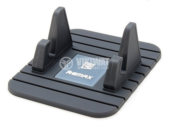 REMAX Fairy Mobile Phone Holder for Car Home Travel Office Black - 1