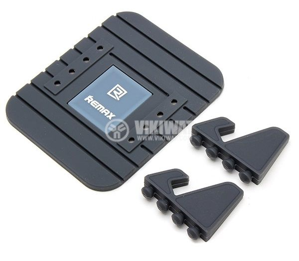 REMAX Fairy Mobile Phone Holder for Car Home Travel Office Black - 2