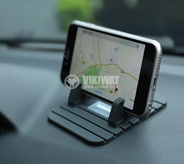 REMAX Fairy Mobile Phone Holder for Car Home Travel Office Black - 5