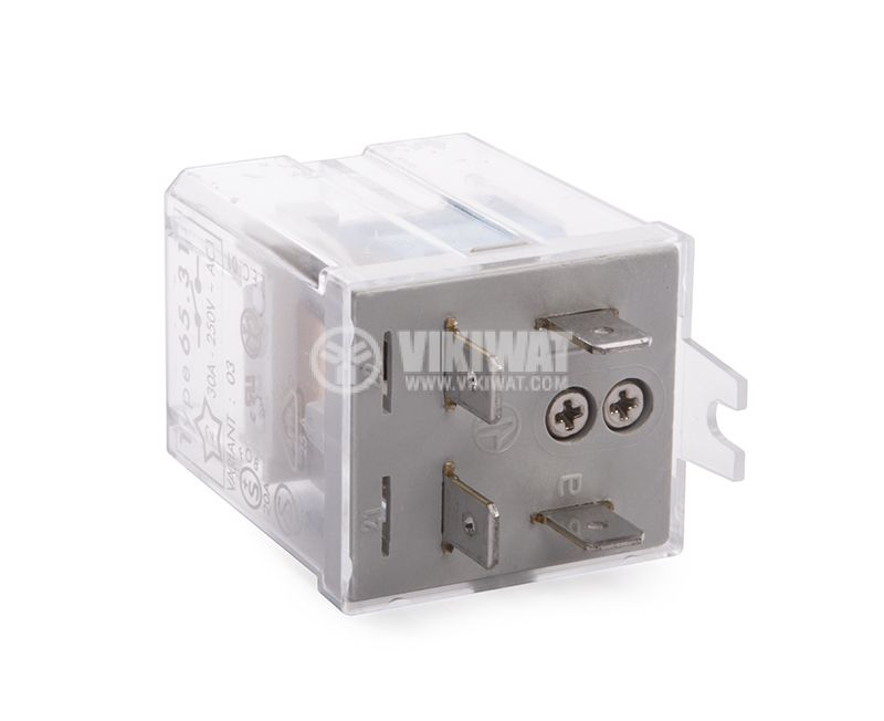 Electromagnetic relay, P17, 60VDC, 30A, 1NO, 250VAC - 2