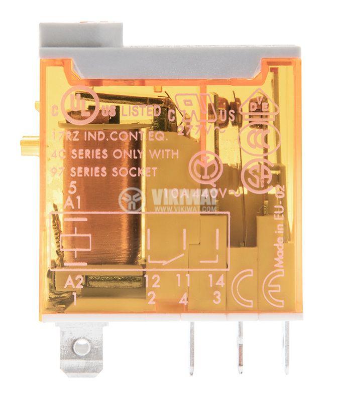 Electromagnetic relay 46.61.8.230.0040, 30VDC, 230VAC, 16A, SPDT - 1