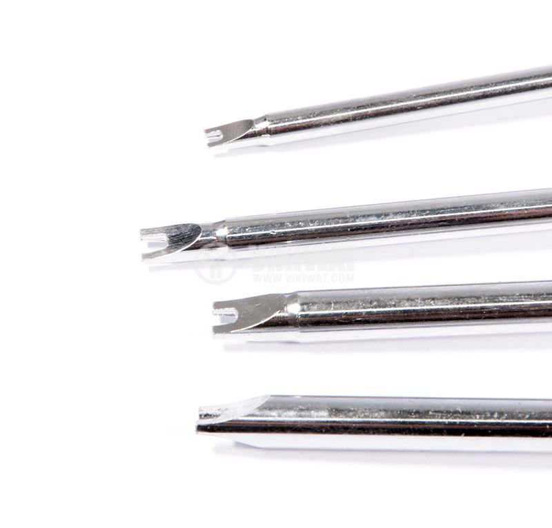 Set of 4 screwdrivers, SD-2404, fork type - 3