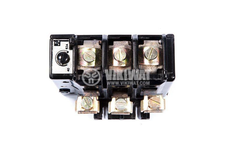 РТБ термична токова защита, 40-63А/500VAC, TSA63 - 3