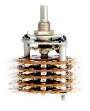 Ротационен превключвател (галета) - 5 секции, 10 позиции, 60 пина,1 контактна група - 2